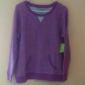 Made for Life purple heather sweatshirt